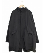 MINOTAUR(ミノトール)の古着「Light Wrinkles M51 Coat」|ブラック