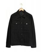 GIVENCHY(ジバンシー)の古着「デニムジャケット」|ブラック