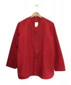 VISVIM(ビズビム)の古着「シャツ」|レッド