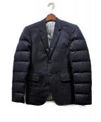 Thom Browne(トムブラウン)の古着「袖ダウンテーラードジャケット」|ネイビー