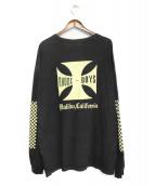RHUDE(ルード)の古着「長袖Tシャツ」|ブラック