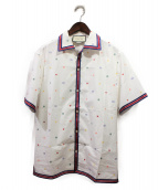 GUCCI(グッチ)の古着「半袖シャツ」|ホワイト
