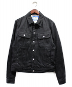 Acne studios×Bla Konst(アクネストゥディオズ×ブロコンスト)の古着「デニムジャケット」|ブラック