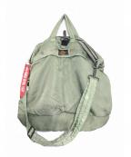 424 × ALPHA(フォートゥーフォー × アルファ)の古着「ヘルメットバッグ」|カーキ