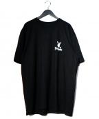 EXAMPLE(イグザンプル×プレイボーイ)の古着「Tシャツ」 ブラック