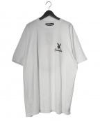 EXAMPLE(イグザンプル×プレイボーイ)の古着「Tシャツ」 ホワイト