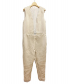 TOGA PULLA(トーガプルラ)の古着「ジャンプスーツ」|アイボリー