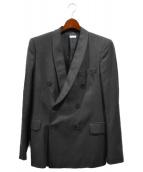 DRIES VAN NOTEN(ドリスヴァンノッテン)の古着「ダブルテーラードジャケット」|グレー