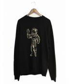 Billionaire Boys Club(ビリオネアボーイズクラブ)の古着「BB CAMO ASTRONAUT CREW」|ブラック