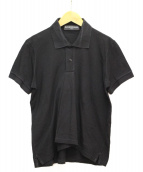 BALENCIAGA(バレンシアガ)の古着「ポロシャツ」|ブラック