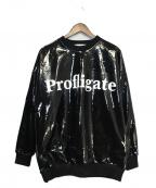 DISCOVERED(ディスカバード)の古着「エナメルスウェット」|ブラック