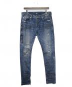 MR.COMPLETELY(ミスターコンプリートリー)の古着「デニムパンツ」|インディゴ