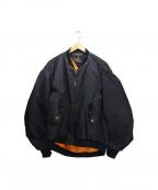 FAD3(ファドスリー)の古着「MA-1ジャケット」 ネイビー
