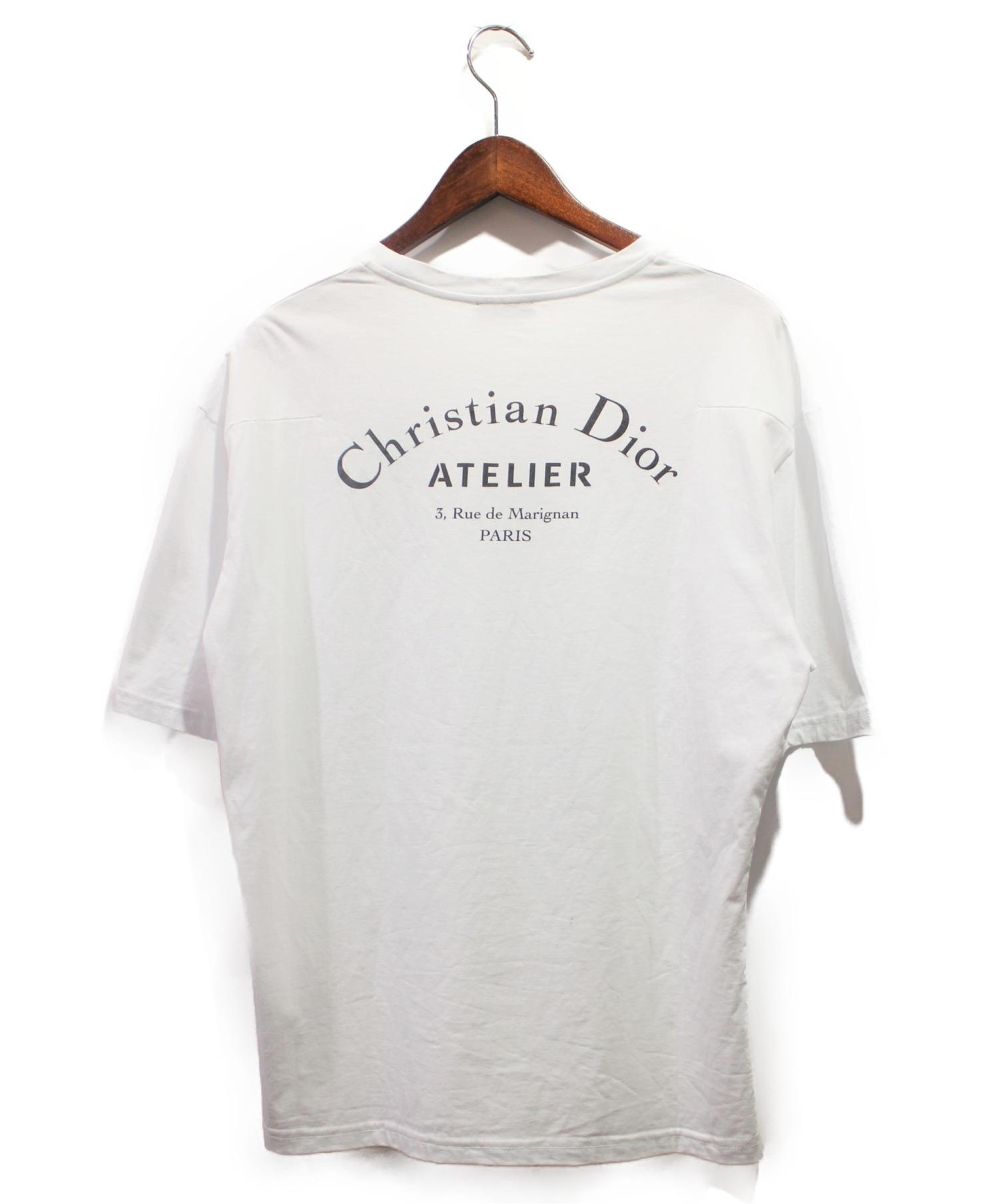 check out 189f0 cd606 [中古]Dior Homme(ディオールオム)のメンズ トップス 19SS/アトリエロゴTシャツ
