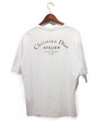 Dior Homme/DIOR(ディオールオム)の古着「19SS/アトリエロゴTシャツ」 ホワイト