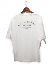 Dior Homme/DIOR(ディオールオム)の古着「19SS/アトリエロゴTシャツ」|ホワイト