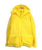 NAPAPIJRI × MARTINE ROSE(ナパピリ × マーティンローズ)の古着「ダウンジャケット」|イエロー