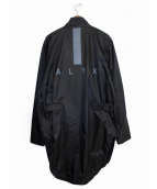 ALYX(アリクス)の古着「ナイロンコート」 ブラック