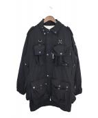 Black Weirdos(ブラック ウィドゥ)の古着「マウンテンジャケット」 ブラック
