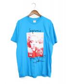 SUPREME(シュプリーム)の古着「18AW Madonna Tee」|スカイブルー