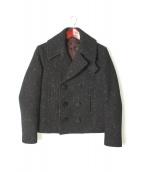 LAD MUSICIAN(ラッドミュージシャン)の古着「Pコート」|ブラック