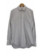 Thom Browne(トムブラウン)の古着「ストライプシャツ」|ホワイト