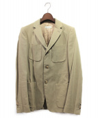 DRIES VAN NOTEN(ドリスヴァンノッテン)の古着「テーラードジャケット」 ベージュ