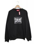 SUPREME(シュプリーム)の古着「19SS Warm Up Crewneck」|ブラック