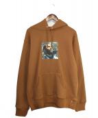 Supreme(シュプリーム)の古着「Marvin Gaye Hooded Sweatshirt 」 ブラウン
