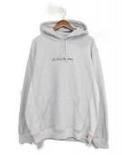 SUPREME(シュプリーム)の古着「19SS Le Luxe Hooded Sweatshirt」|グレー