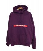 Supreme(シュプリーム)の古着「Le ZipPouch Hooded Sweatshirt」|パープル