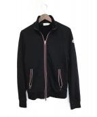 MONCLER(モンクレール)の古着「ジップスウェット」 ブラック