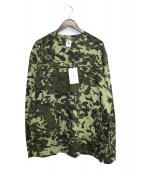 NIKE x ALYX MMW(ナイキ x アリクス)の古着「長袖Tシャツ」|グリーン