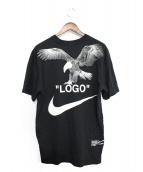 NIKE × OFF WHITE(ナイキ x オフホワイト)の古着「Tシャツ」 ブラック