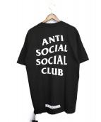 ANTI SOCIAL SOCIAL CLUB × NEIGHBORHOOD(アンチソーシャルソーシャルクラブ × ネイバーフッド)の古着「18SS ASSC TURBO / C-TEE SS」 ブラック