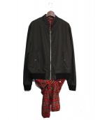 Y/PROJECT(ワイプロジェクト)の古着「ドッキングボンバージャケット」 ブラック