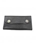BILL WALL LEATHER(ビルウォールレザ)の古着「長財布」|ブラック