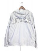 Supreme × Champion(シュプリーム×チャンピオン)の古着「16SS Half Zip Windbreaker」|シルバー