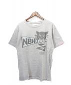 NEIGHBORHOOD(ネイバーフッド)の古着「Tシャツ」|ライトグレー