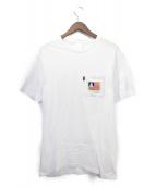 RIPNDIP(リップンディップ)の古着「ポケットTシャツ」|ホワイト