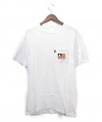 RIPNDIP(リップンディップ)の古着「ポケットTシャツ」 ホワイト