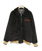 SELF MADE(セルフメイド)の古着「ボアジャケット」 ブラック
