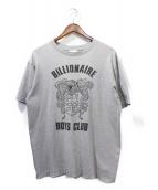 BILLIONAIRE BOYS CLUB(ビリオネアボーイズクラブ)の古着「Tシャツ」|グレー