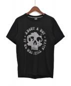NUMBER (N)INE(ナンバーナイン)の古着「スカルプリントTシャツ」|ブラック
