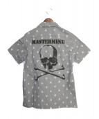 Mastermind JAPAN(マスターマインドジャパン)の古着「identity期 オープンカラーシャツ」|グレー