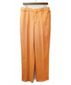 BURBERRY(バーバリー)の古着「スラックス」 オレンジ