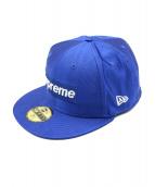 Supreme(シュプリーム)の古着「ボックスロゴキャップ」|ブルー
