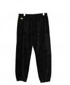 Supreme×LACOSTE(シュプリーム×ラコステ)の古着「Velour Track Pants」|ブラック