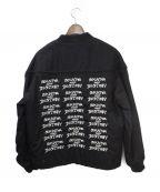 SUPREME(シュプリーム)の古着「Poplin Crew Jacket」 ブラック