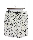 Supreme(シュプリーム)の古着「14SS Fur Belted Short」 ホワイト×ブラック